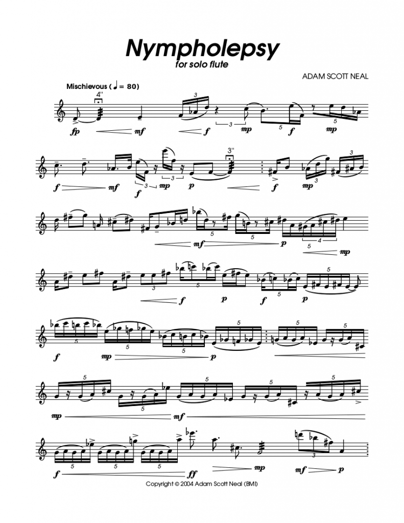 Nympholespy Score