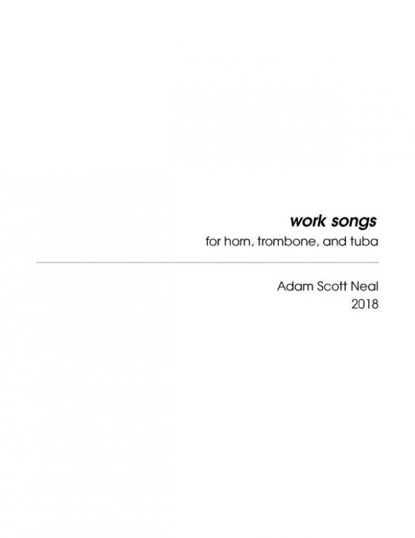 work songs cover
