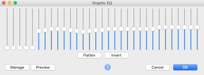 graphic eq in audacity