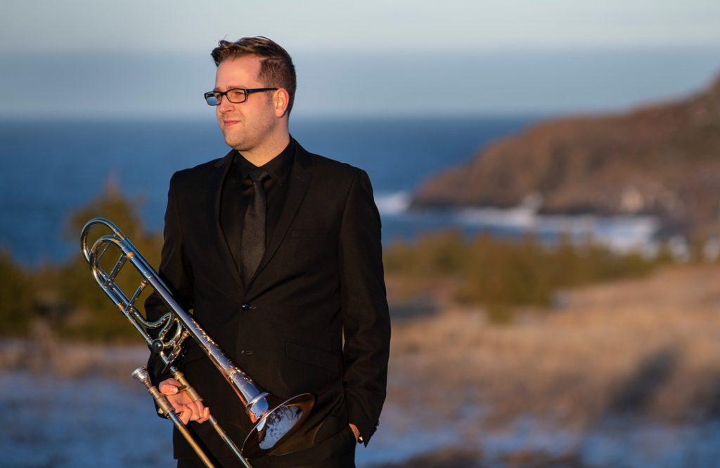 Stephen Ivany, trombone
